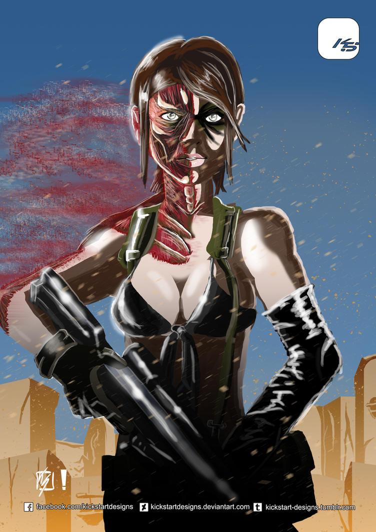 Metal Gear Solid V: Phantom Pain - Quiet by KickStartDesigns on ...