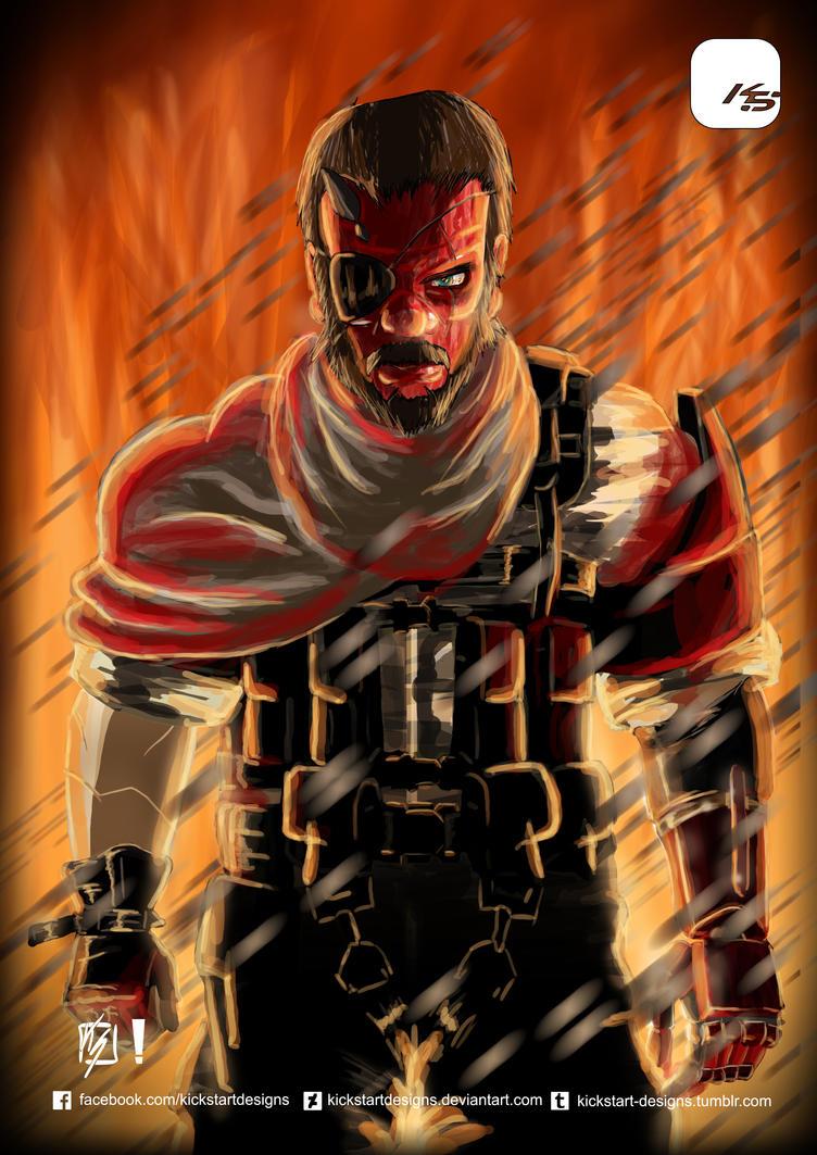 Metal Gear Solid V: Phantom Pain - Big Boss by KickStartDesigns on ...