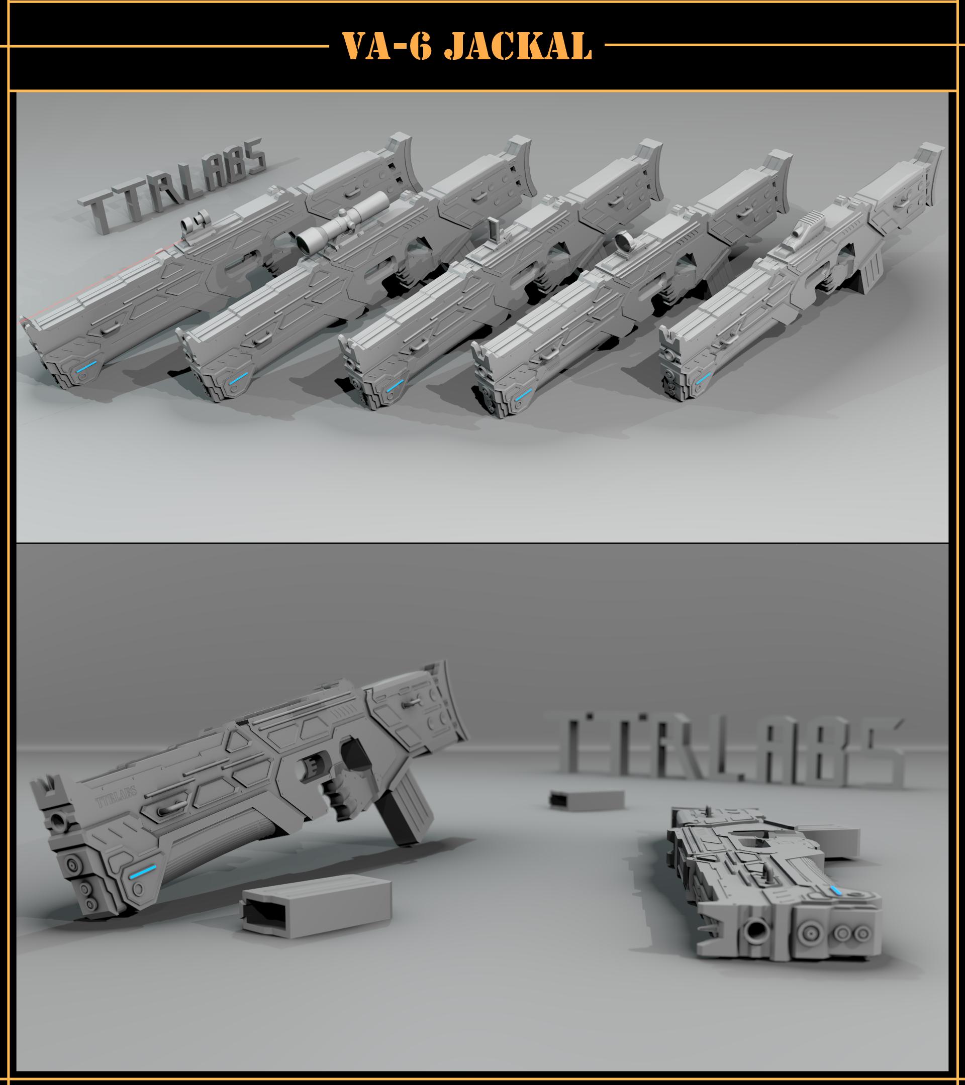 VA-6 Jackal model by ttrlabs