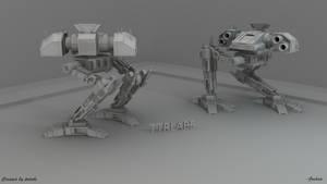 Predator Mech Model by ttrlabs
