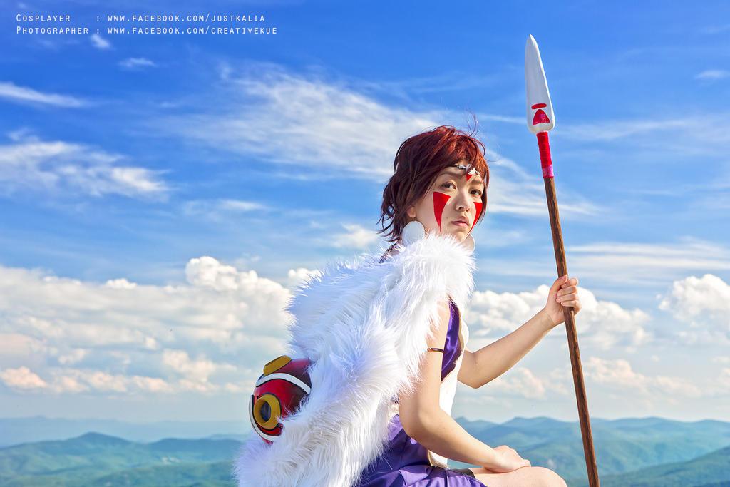 Princess Mononoke by kueebreeze