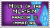 MLP:FIM Fans are Immature by Haters-Gonna-Hate-Me