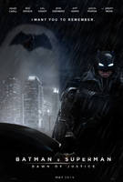 Batman v. Superman: Dawn of Justice poster by Za-RaF