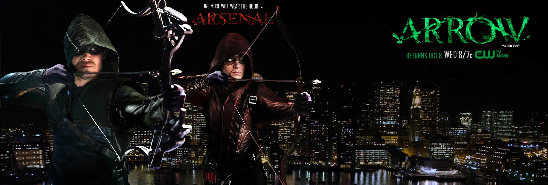 Arrow Season New Suit Wallpaper free desktop backgrounds