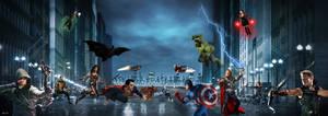 MARVEL vs. DC (aka The Avengers v. Justice League)