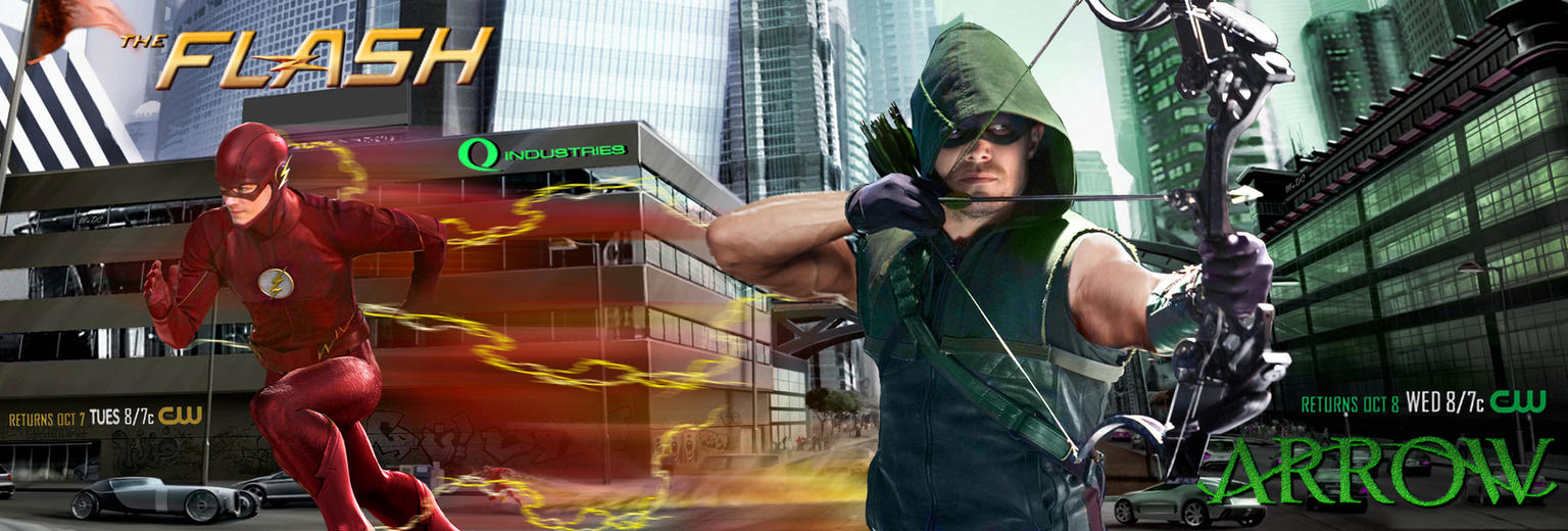 Arrow Season 4 The Flash 2 Promo By Fmirza95