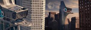 Marvel's Fantastic Four: The Baxter Building by Za-RaF