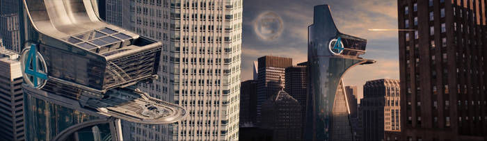 Marvel's Fantastic Four: The Baxter Building by fmirza95