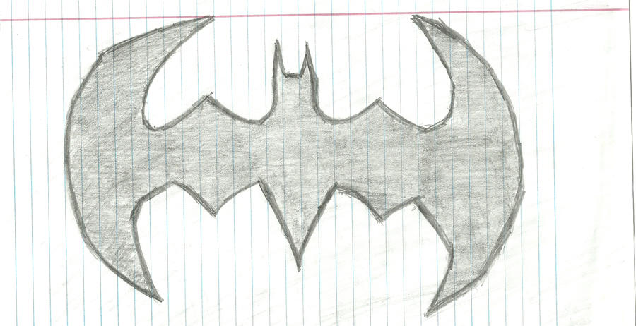 Batman Symbol Sketch By Dnxpunk On DeviantArt