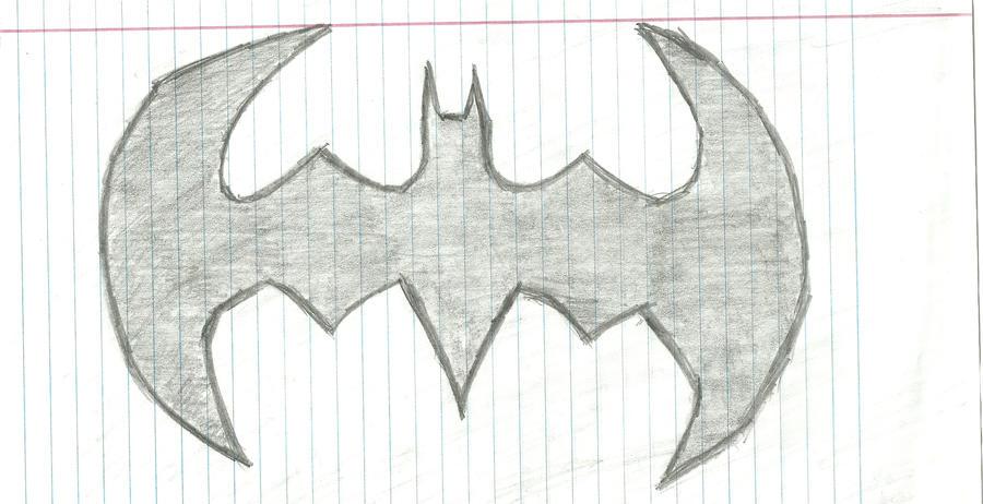 Batman Symbol Sketch By Dnxpunk On DeviantArt