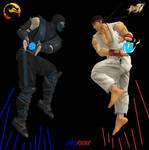 Subzero vs Ryu