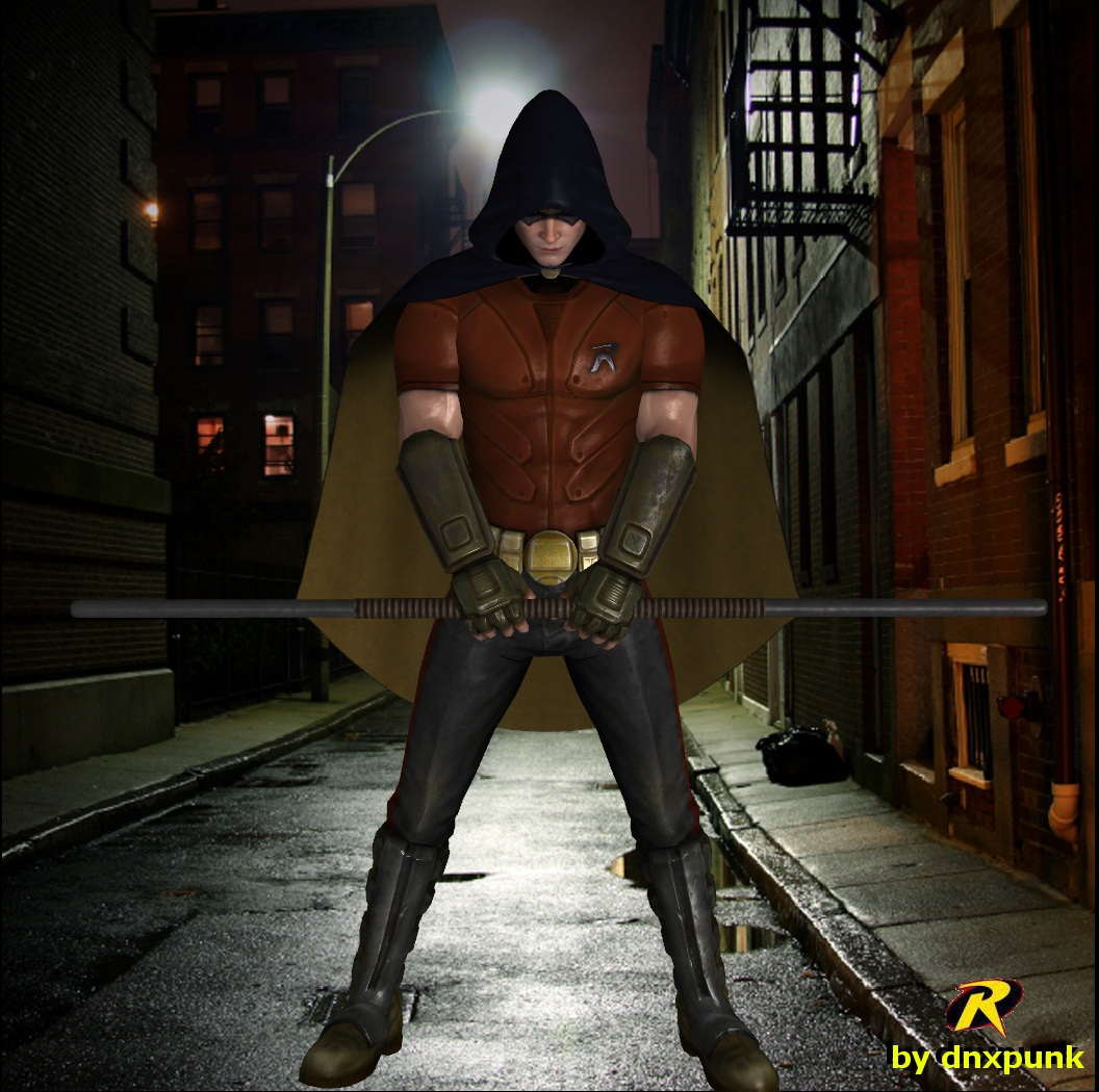 Arkham City - Robin by dnxpunk on DeviantArt