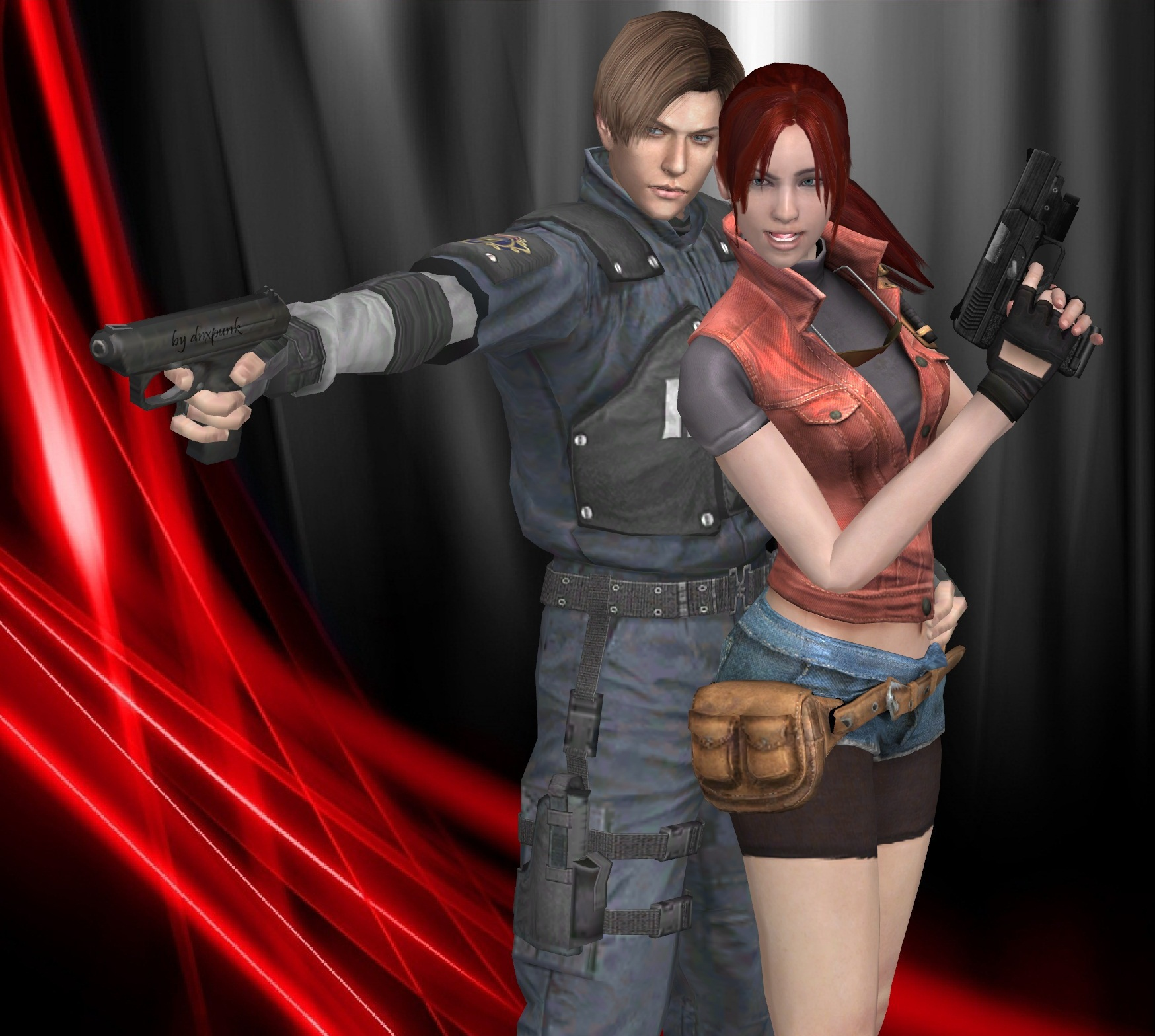 leon kennedy and claire redfield relationship with god