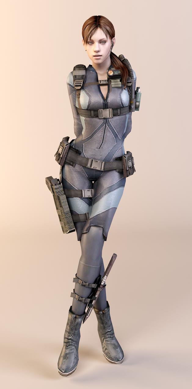 Jill Valentine by dnxpunk