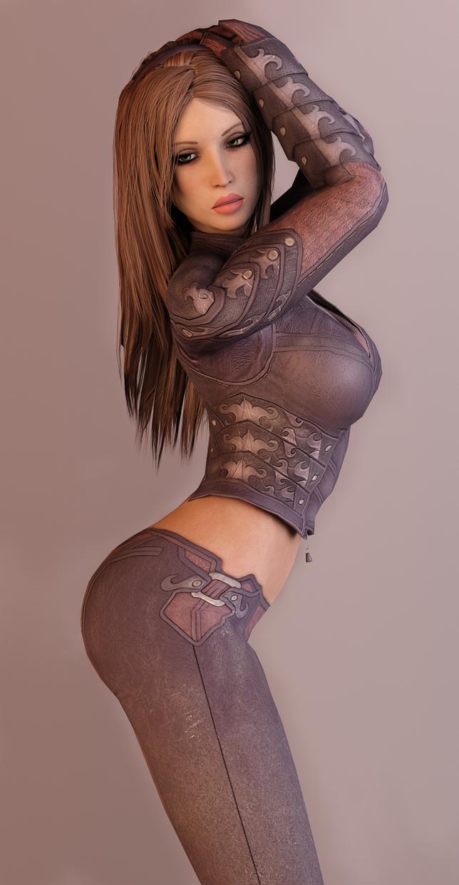 Talia - Strike a pose by dnxpunk