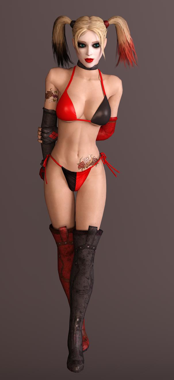 Harley Quinn - Bikini 02 by dnxpunk