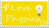 I Love Physics Stamp by Simple-Photo