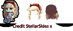 Star VS The Forces Of Evil Custom Hair by StellarSkiesx