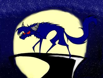 Kaz in the Moonlight by dinowolf0049056