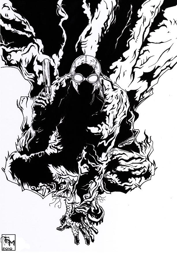 Spider-Man Noir Black n' White by MarcoFontanili on DeviantArt