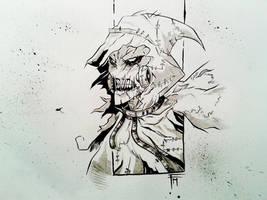 Scarecrow sketch by MarcoFontanili