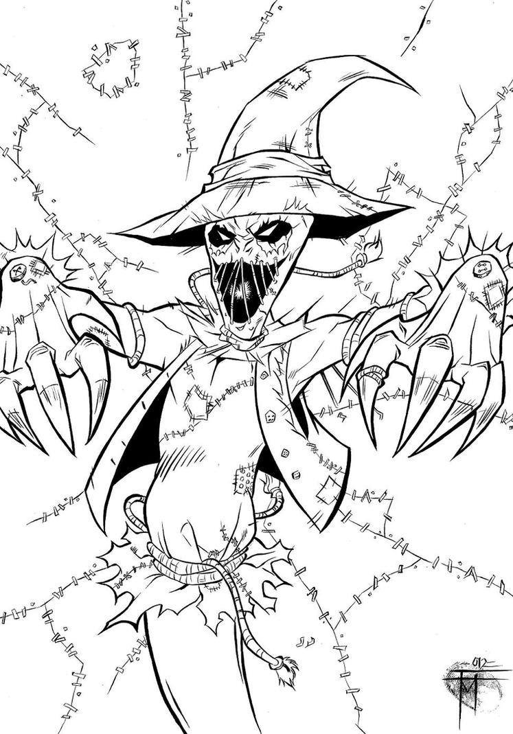 Scarecrow by MarcoFontanili on