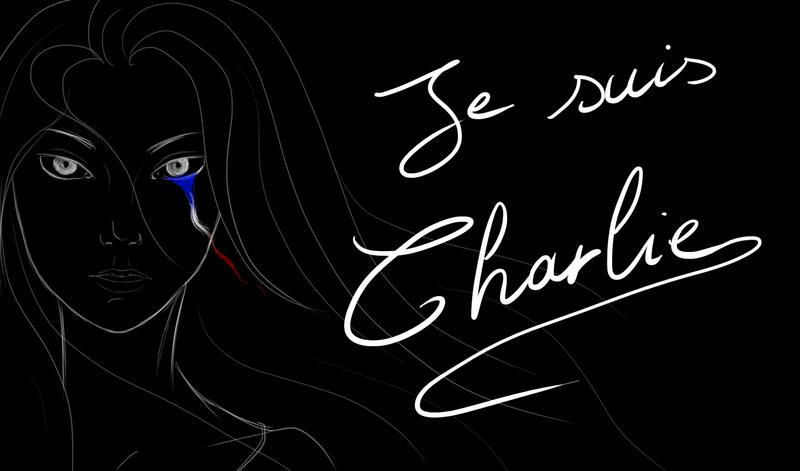 Je suis Charlie!!! by TsukiOkamiLiddell