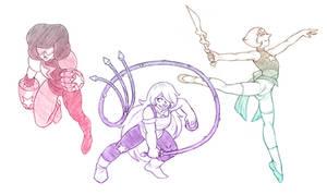 Crystal Gems - Sketch