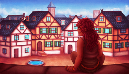 a thief's observation point by bittersweet-Grace