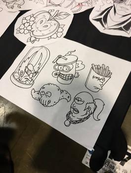 Aqua Teen Futurama art
