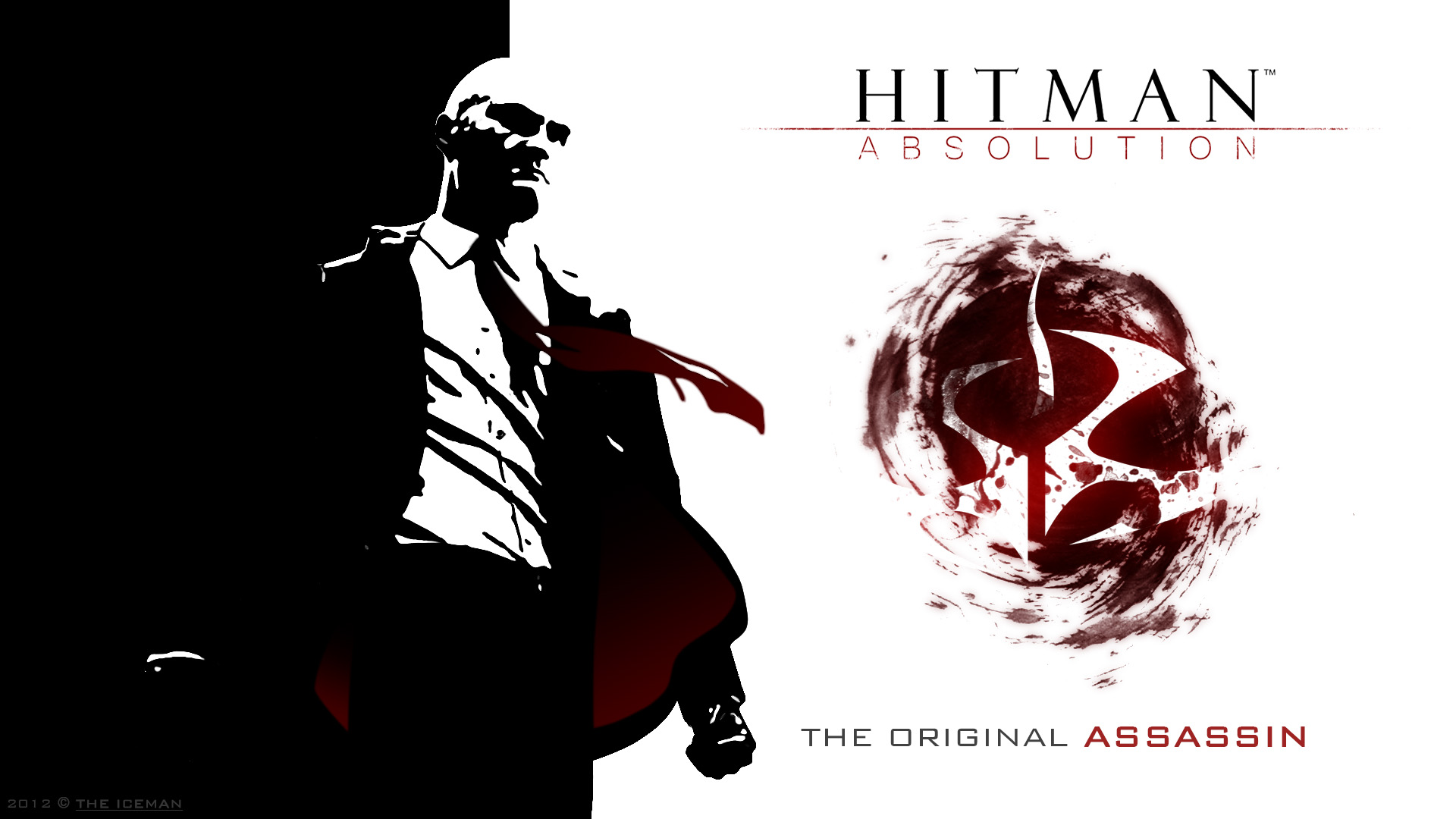 Hitman Absolution Wallpaper Agent 47 Full Hd By Theicemanpl On