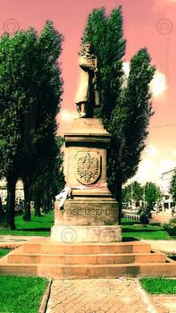 Tadeusz Kosciuszko Monument in Tomaszow Mazowiecki