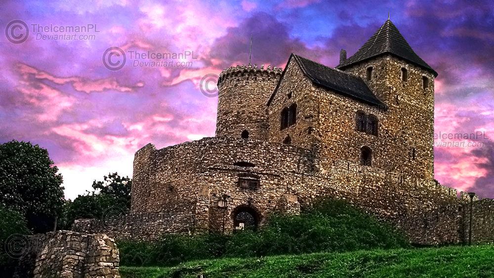 Bedzin Medieval Castle in HDR (Poland)