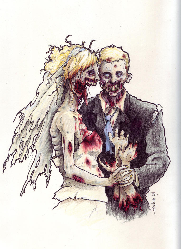 Zombie Pre Wedding Photo All Topic