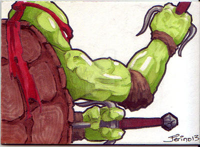 TMNT Raphael by ringbearer80