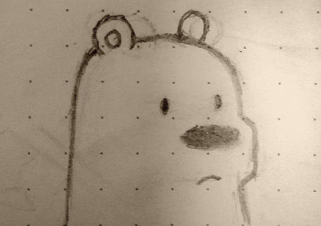 Ice Bear hates wacky filters. by BleachTomato