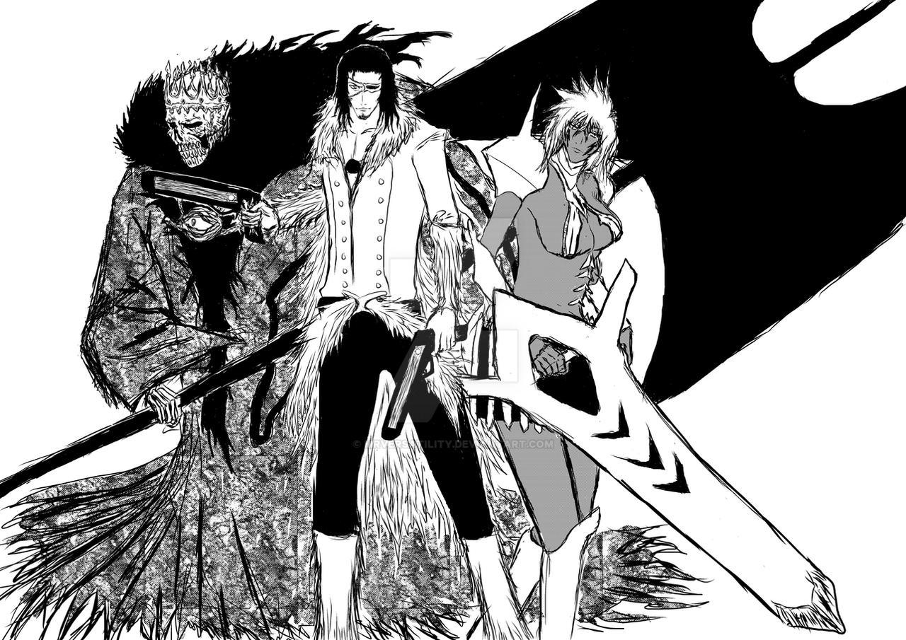 Bleach Top 3 Espada By Mrversatility
