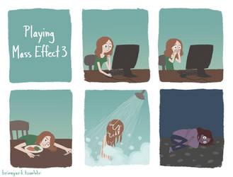 Mass Effect Feelings by pyuan