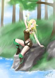 Elf Girl Light