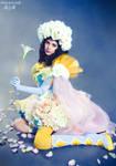 Snow-white Rose