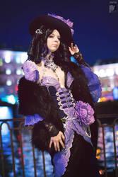 Night City Lady