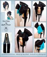 Jigoku Shoujo - Hone Onna wig commission