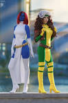 Mystique and Rogue