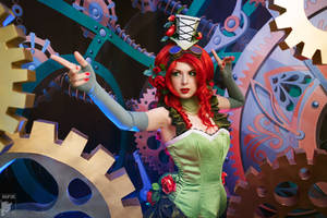 Poison Ivy - Nature and Machines by Rei-Doll