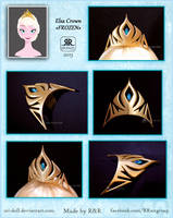 Frozen - Queen Elsa Crown by Rei-Doll