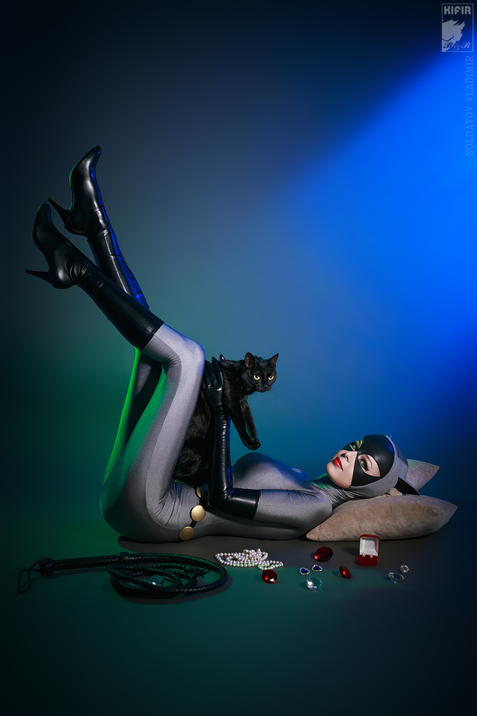Catwoman and Isis