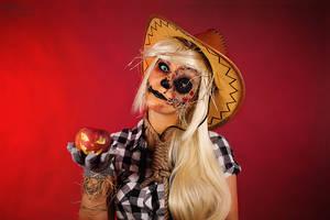 Twisted Applejack Scarecraw by Rei-Doll