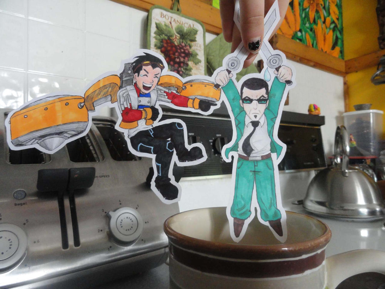 Generator Rex Paper Children by ladyofthedragons1