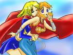 Supergirl X Wondergirl