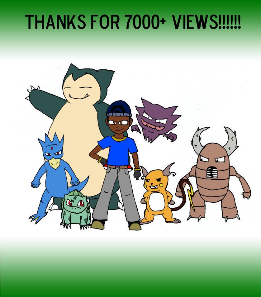 7000 Views by KidDiamond